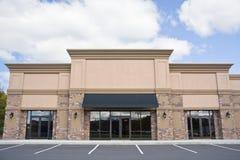 Devanture de magasin au détail Images stock