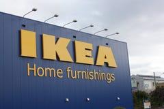 Devanture de magasin d'Ikea Photo stock