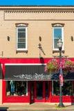 Devanture de magasin de Chagrin Falls Images libres de droits