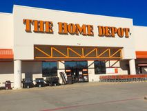 Devanture de magasin de Home Depot Photos stock