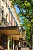 Devanture de magasin de Medina Images libres de droits