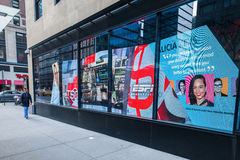 Devanture de magasin de rue de New York City Photo stock