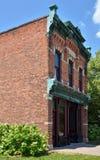 Devanture de magasin historique dans le village de Greenfield, Dearborn, MI Image libre de droits