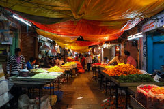 Devarai Market in Mysore of India Royalty Free Stock Photo