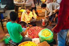 Devarai Market in Mysore of India Stock Photo