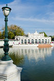 Devaraj-Kunlai port på smällPa-inslotten Royaltyfri Fotografi