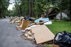 The devastation of Hurricane Harvey Stock Photography