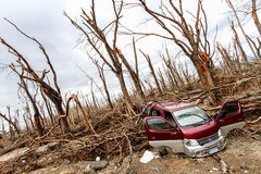 Devastation after typhoon Haiyan Royalty Free Stock Photography