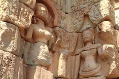 Devata at Bakong in Angkor Stock Photos