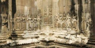 Devata's, Angkor Wat Temple, Cambodia Stock Images