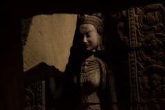 Devata-Statue Lizenzfreie Stockfotos