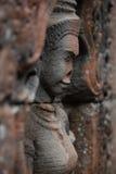 Devata-Statue in Angkor Lizenzfreie Stockfotos