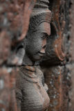 Devata statue in Angkor Royalty Free Stock Photos