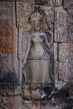 Devata w Bayon świątyni Obrazy Royalty Free