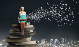 Develop your imagination! Stock Image
