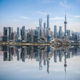 Developed city in shanghai pudong Stock Images