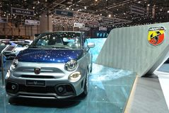 88th Geneva International Motor Show 2018 - Fiat Abarth 695 Rivale royalty free stock image