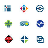 IT developer game company community professional fun ideas logo icon Royalty Free Stock Photos