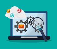 Developer icon design Stock Image
