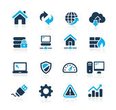 Developer Icons  Azure Series Stock Image