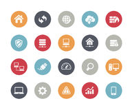 Developer Icons // Classics Series. Vector icons for web, mobile or print in projects for Telecommunications, System Icons, Menu Apps, Social Communications and Royalty Free Stock Photo