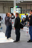 The Developer Playground on March 13, 2014 at CEBIT computer expo, Hannover, Germany. CeBIT is the w Royalty Free Stock Image