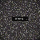 Developer Programming Code.Javascript Abstract Computer Script - Stock Photography