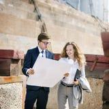 Developer Survey Planning Structure Construction Concept Stock Photography