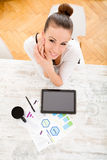 Developing a Business Plan Royalty Free Stock Photography