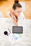 Developing a Business Plan Royalty Free Stock Photos