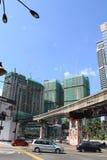 Developing country city kuala lumpur Malaysia Royalty Free Stock Photo
