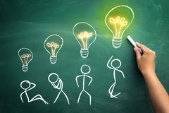 Developing Idea in process royalty free stock photos