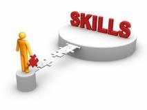 Developing Skills vector illustration