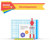 Developing Solution Design Flat Stock Images
