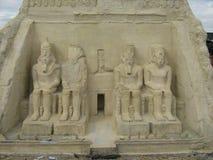 Egyptian architecture Royalty Free Stock Photos