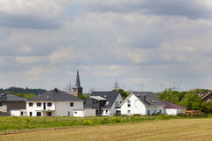 Development Area in Village Royalty Free Stock Photo