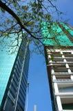 Development Asia city, highrise building Stock Image