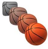 Development of Basketball Royalty Free Stock Photography