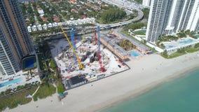 Development on the beach Royalty Free Stock Image