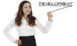 Development in business Stock Photography