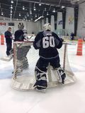 Development camp young players of Winnipeg Jets Royalty Free Stock Photos