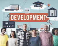 Development Change Improvement Opportunity Concept Royalty Free Stock Photography