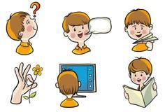 Development of children Royalty Free Stock Images
