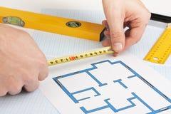 Development drawings Stock Photo