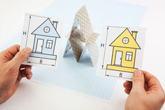 Development drawings Stock Images