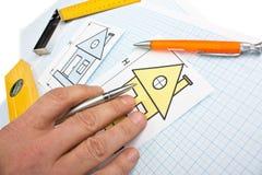 Development drawings Royalty Free Stock Photos