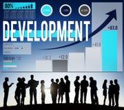 Development Goals Growth Improvement Strategy Concept Stock Image