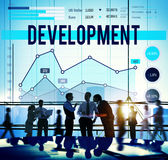 Development Improvement Challange Goal Target Concept Royalty Free Stock Images