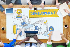 Development Improvement Opportunity Strategy Growth Concept Royalty Free Stock Photography