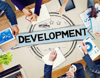 Development Improvement Success Growth Goals Concept Stock Photos